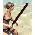 Dreadhorn Ruebdite Sword