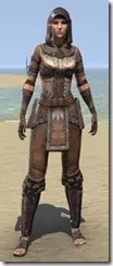 Keeper's Garb - Female Front