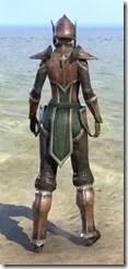 Vanguard Uniform - Female Back