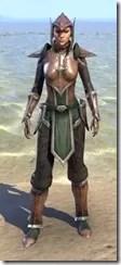 Vanguard Uniform - Female Front