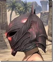 Ebonshadow Helm - Female Side