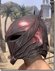 Ebonshadow Helm - Male Side
