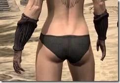 Hlaalu Gauntlets - Female Back