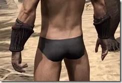 Hlaalu Gauntlets - Male Back