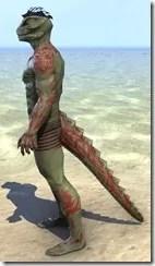 Dremora Kyn Body Tattoo - Argonian Side
