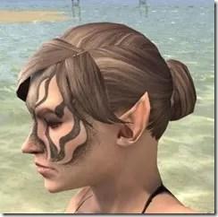 Inferno Ink Face Markings - Female Side