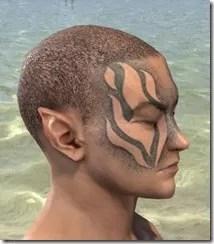 Inferno Ink Face Markings - Male Side