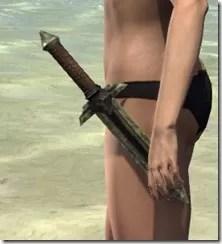 Ancient Elf Orichalc Dagger