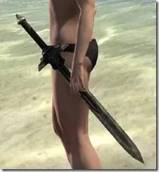 Ancient Elf Orichalc Sword
