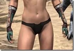 Argonian Dwarven Gauntlets - Female Front