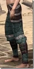 Argonian Dwarven Greaves - Female Side