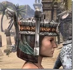 Argonian Dwarven Helm - Female Right