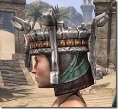 Argonian Dwarven Helm - Female Side