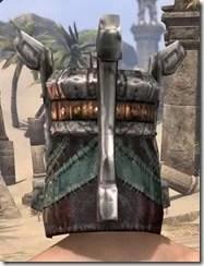 Argonian Dwarven Helm - Male Rear