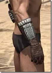 Argonian Iron Gauntlets - Male Right