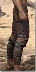 Argonian Iron Greaves - Male Right