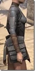 Breton Steel Cuirass - Female Right