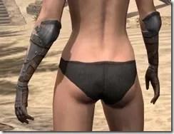 Breton Steel Gauntlets - Female Rear