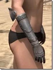 Breton Steel Gauntlets - Female Right