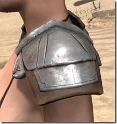 Breton Steel Pauldron - Female Side