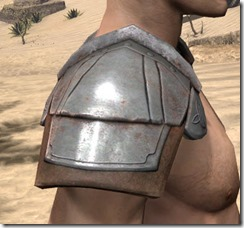 Breton Steel Pauldron - Male Right