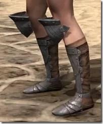 Breton Steel Sabatons - Female Side