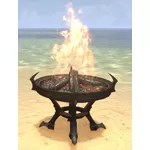 Brotherhood Brazier, Wrought Iron