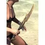 Daedric Dwarven Dagger