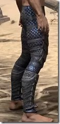Dragon Priest Rubedite Greaves - Male Right