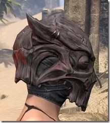 Dragon Priest Rubedite Helm - Female Right