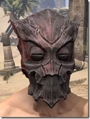 Dragon Priest Rubedite Helm - Male Front