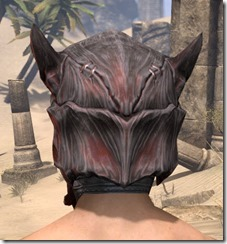 Dragon Priest Rubedite Helm - Male Rear