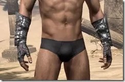 Fang Lair Ancestor Silk Gloves - Male Front