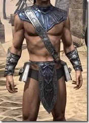 Fang Lair Ancestor Silk Jerkin - Male Front