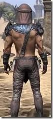 Fang Lair Ancestor Silk - Male Shirt Close Rear