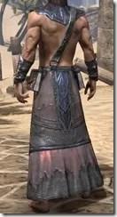 Fang Lair Ancestor Silk Robe - Male Rear