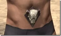 Fang Lair Rubedite Girdle - Male Front