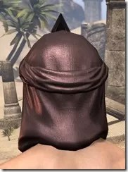 Fang Lair Rubedite Helm - Male Rear