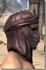 Fang Lair Rubedite Helm - Male Right
