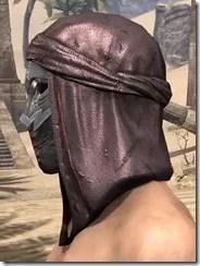 Fang Lair Rubedo Leather Helmet - Male Side