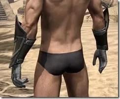 Orc Orichalc Gauntlets - Male Rear