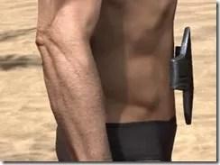 Orc Orichalc Girdle - Male Rear