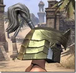 Orc Orichalc Helm - Female Right