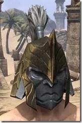 Orc Orichalc Helm - Male Front