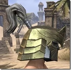 Orc Orichalc Helm - Male Right