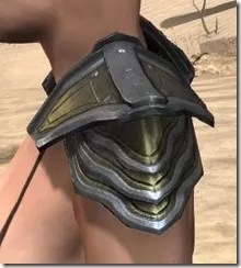 Orc Orichalc Pauldron - Female Side