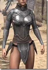 Orc Steel Cuirass - Female Front