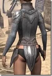 Orc Steel Cuirass - Female Rear
