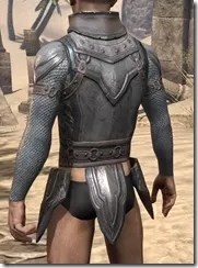 Orc Steel Cuirass - Male Rear