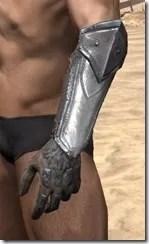 Orc Steel Gauntlets - Male Side
